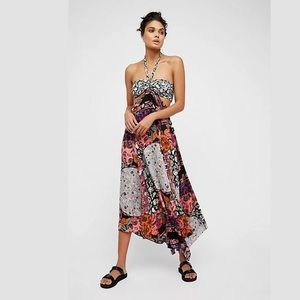 Free People Maxi dress Botanical Combo Size 0 NWT
